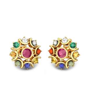 Cosma Navratna Earrings