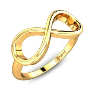 Leena Infinity Gold Ring