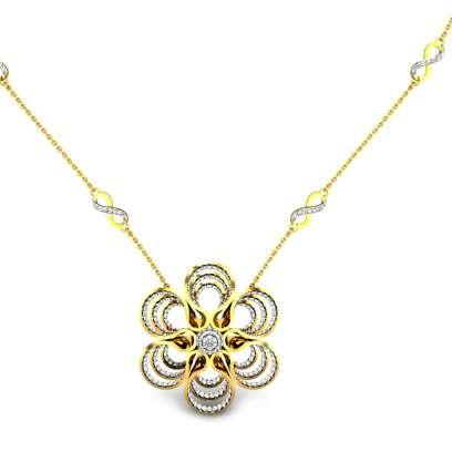 Arosa Antique Diamond Necklace